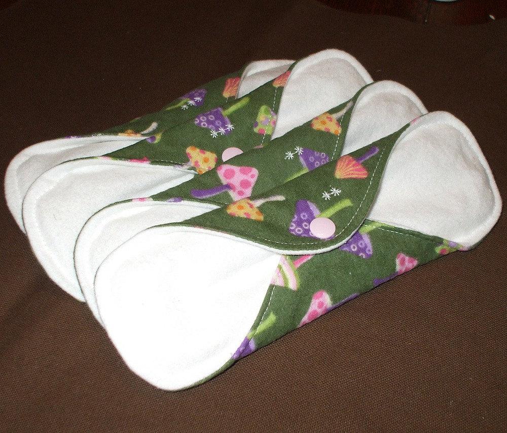 Mushrooms Cloth Pad Starter Set