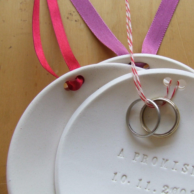 Personalized Ring Bearer Bowl - Paloma's Nest, Etsy