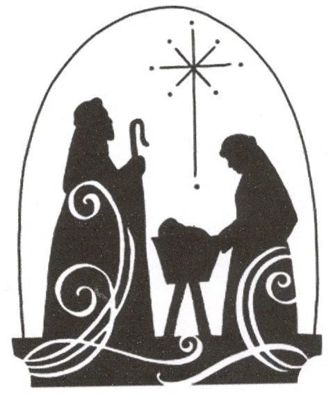 Silhouette Patterns Nativity Printable