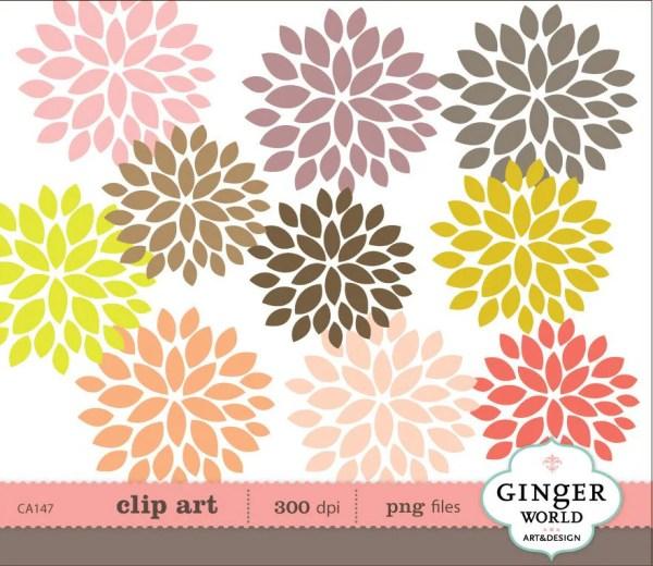 flower clip art rynakimley