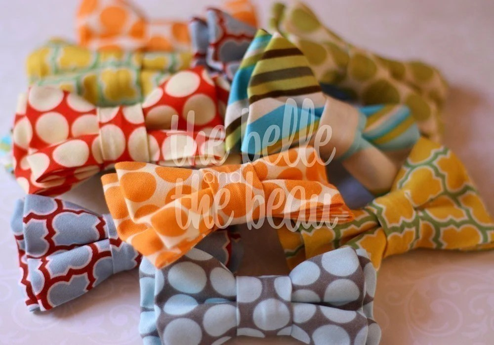 Vintage themed bow ties