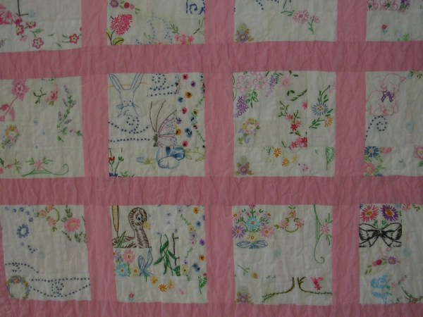Baby Embroidery Quilt & Origami