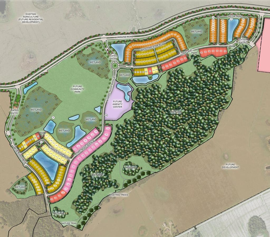 Skye Ranch siteplan