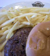 Steak 'n Shake burger