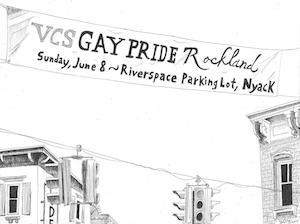 Nyack Sketch Log: VCS Gay Pride Rockland • Nyack News and