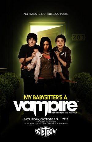 My Babysitters a Vampire