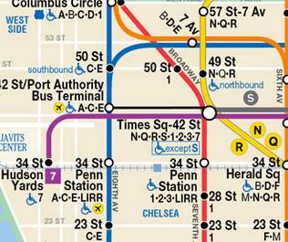 Estación Times Square - 42nd St.