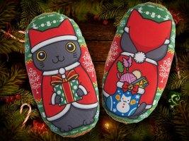 クリスマス猫キッカー
