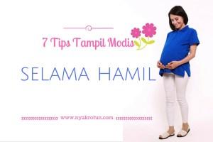 Tips-tampil-cantik-dan-modis-selama-hamil