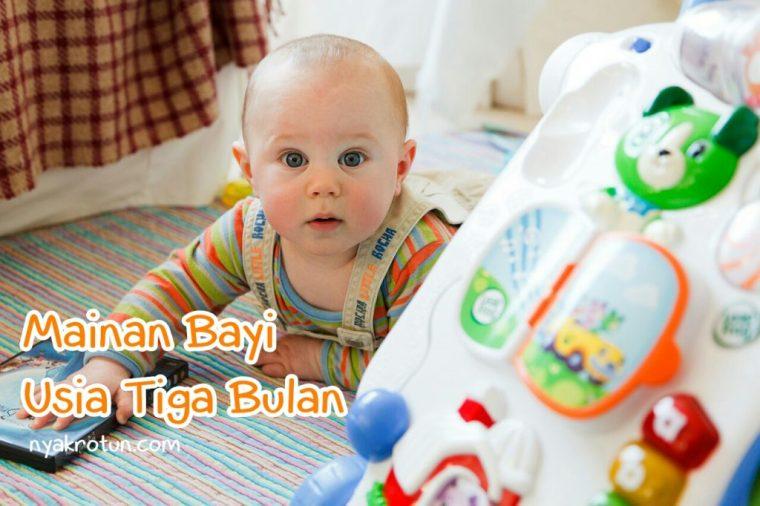 mainan bayi usia 3 bulan