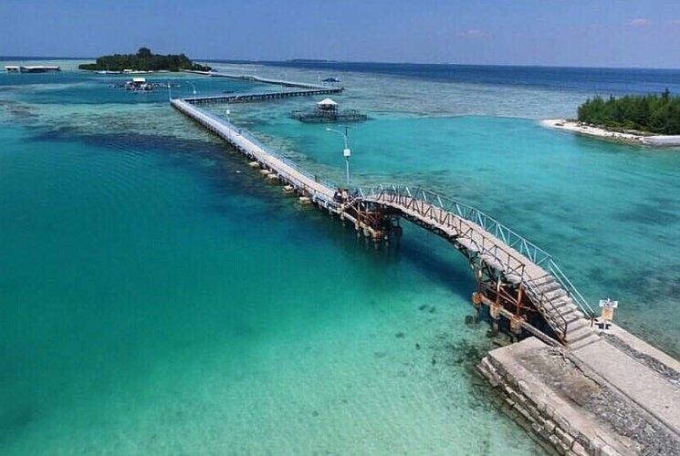 Menuntaskan Rindu Bersama Keluarga di Pulau Tidung