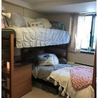 34 The Nuiances Of Dorm Room Ideas Lofted Bed Desk 100