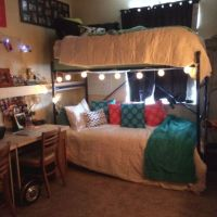 34 The Nuiances Of Dorm Room Ideas Lofted Bed Desk 229