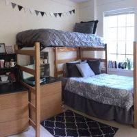 34 The Nuiances Of Dorm Room Ideas Lofted Bed Desk 96