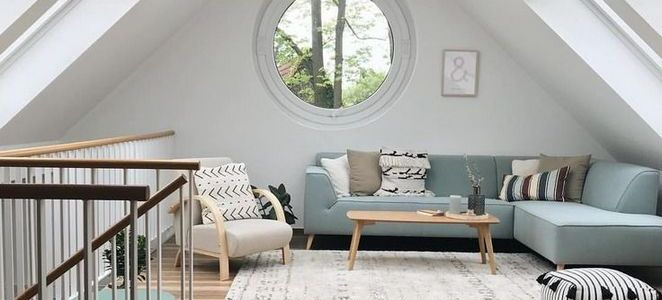+35 Incredible Makeover Design and Decorating Dreamy Attic Rooms Ideas