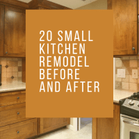 20 Small Kitchen Remodel Before and After