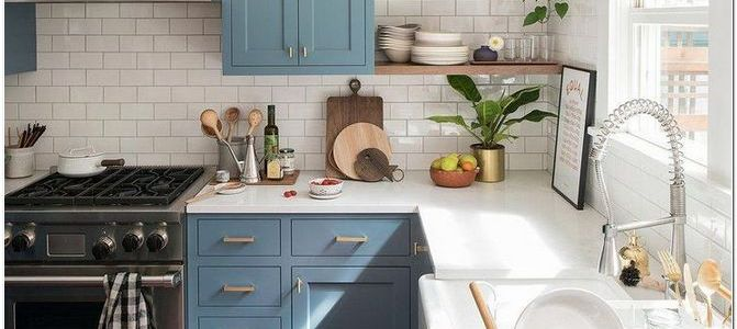 40 Creative Small Kitchen Design And Organization Ideas to Spice Up Your Kitchen