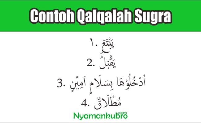 5 Contoh Qaqalah Kubro Dan 5 Contoh Qalqalah Sugro Beserta Cute766