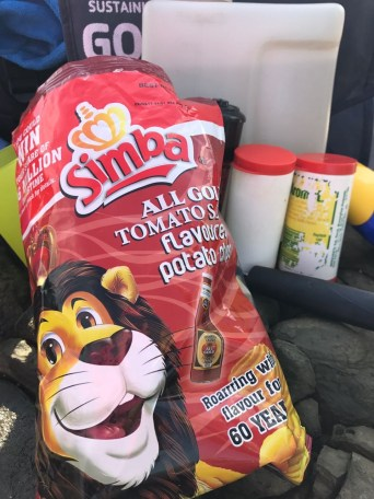 South African Simba chips. Yummy.