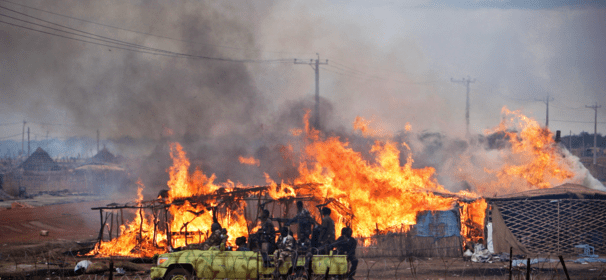 South Sudan villages burned to ashes by the fighting troops(Photo: file)