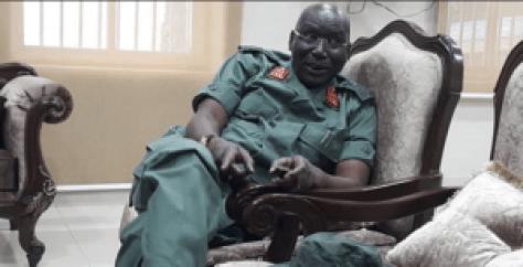 South Sudan SPLA-IG Chief of staff, Lt. Gen. Paul Malong Awan(Photo: file)
