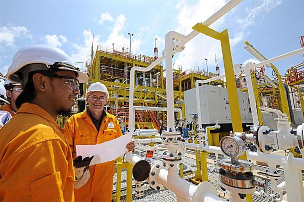 Foreign petroleum engineers at a new training facility for Petronas in South Sudan(Photo: file)