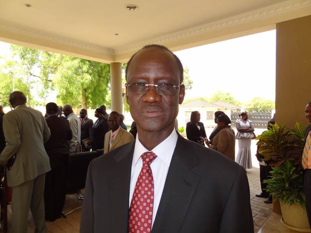 Telar Ring Deng, a controversial politician, who is now distanced as South Sudan ambassador to Russia by President Salva Kiir(Photo: file)
