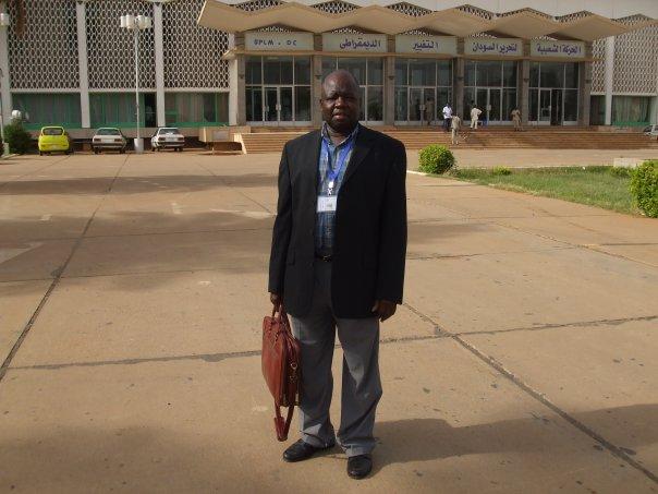 Amb. Sistor Olur Erista, the SPLM-IO representative to the United Kingdom and Ireland in a past post(Photo: file)