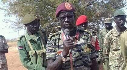 Gen. James Ochan Puot of SPLA-IO