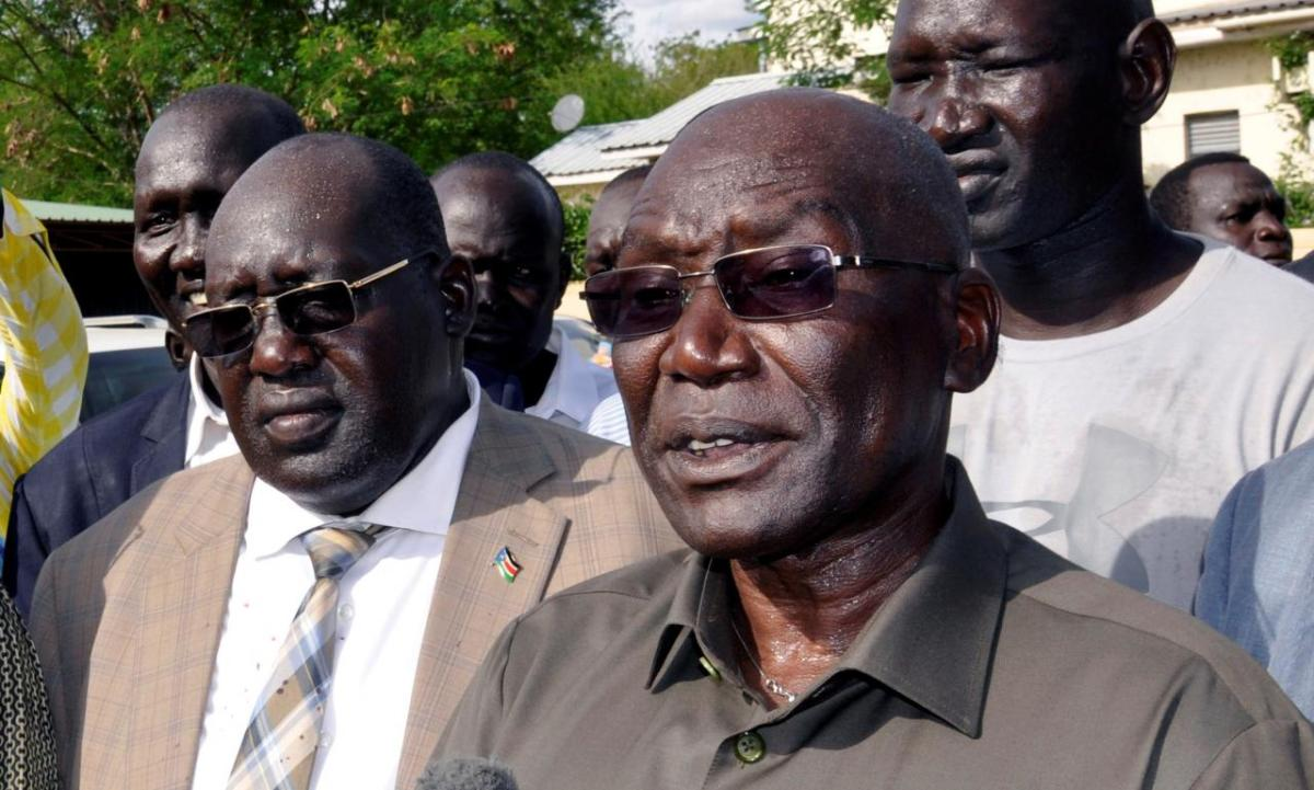 BREAKING: Gen. Malong Confirmed His Voice Recording In The Latest Wiretapped Audio Recordings On His Rebellion