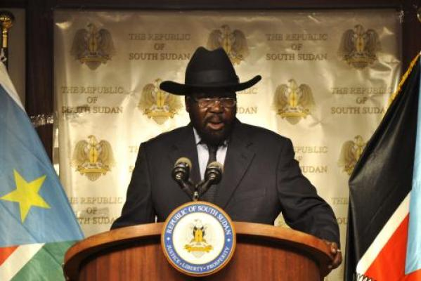 The incumbent, president Salva Kiir, one of the warlord turned president is at the center of the conflict....