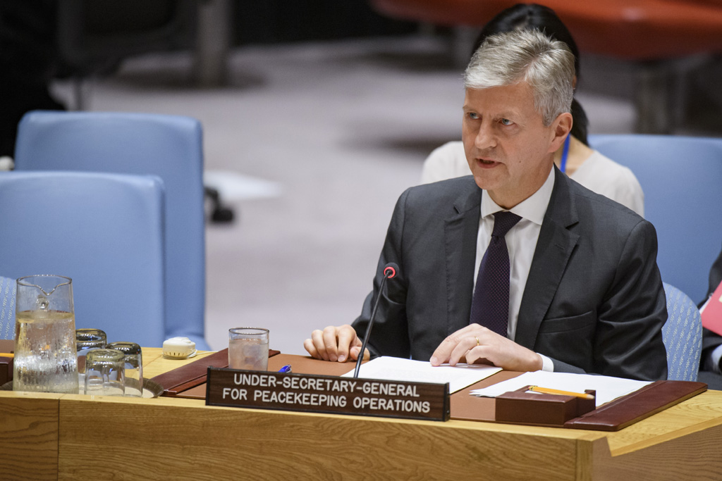 U.N. Peacekeeping Chief Issues Warning on South Sudan