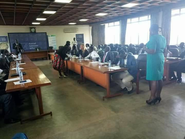Members of South Sudan public dialogue during a one day session at Makerere University on March 2nd, 2018(Photo: supllied)