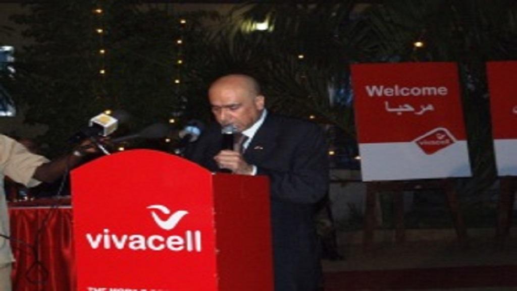 Chairman of Vivacell mobile network, Pierre Fattouch (Photo credit: Sudan Tribune)