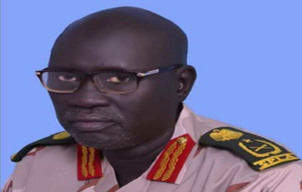 Lt. Gen. Amme Nare Lopole, the former Chairman of the Military Command Council (MCC) of Dr. Lam Akol's National Democratic Movement (NDM), joined SPLM/A-IO(Photo: file)