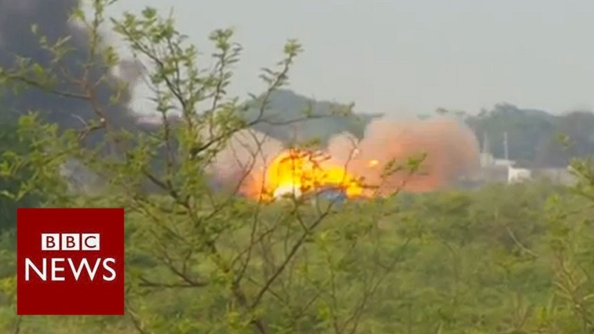 Govt troops trying to capture Bentiu after the rebels held the town for two week 11 may 2014 (BBC Photo)