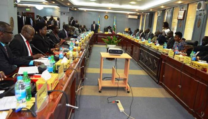 Cabinet meeting in Juba 2011 (Source Gurtong)