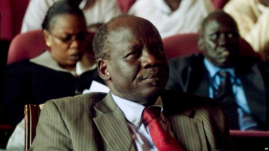 Dr. Lam Akol, a leading member of South Sudan Opposition Alliance and a former Minister of the Transitional Government of National Unity(Photo credit: VOA/File/Nyamilepedia)