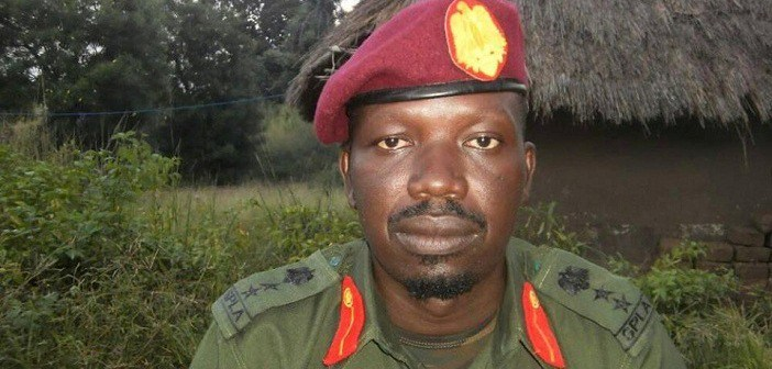 Col. Lam Paul Gabriel, SPLA-IO deputy spokesman (photo courtesy)