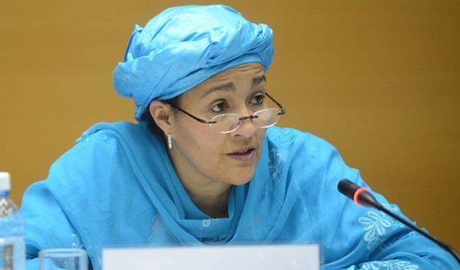 United Nation Deputy Secretary-General Amina J. Mohamed (File photo)