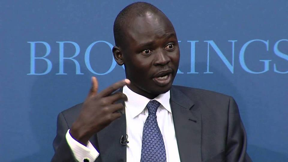 Prominent civil rights activist Peter Biar Ajak (File photo)