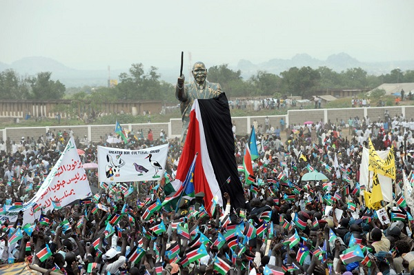 South Sudan Independence Day celebrations in Juba 9th July 2011 (File photo)