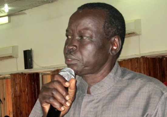 South Sudan former deputy interior minister Gen. Salva Mathok Gengdit (File photo)