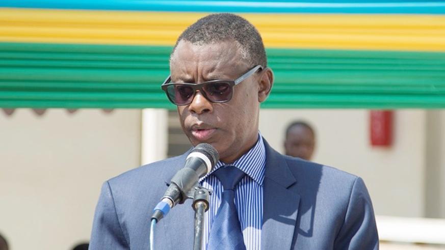 Rwanda's defense minister Minister Kabarebe (File photo)