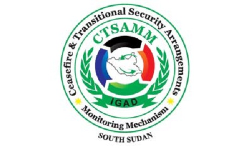 Logo of the ceasefire monitoring body, the CSTAMM (File photo)