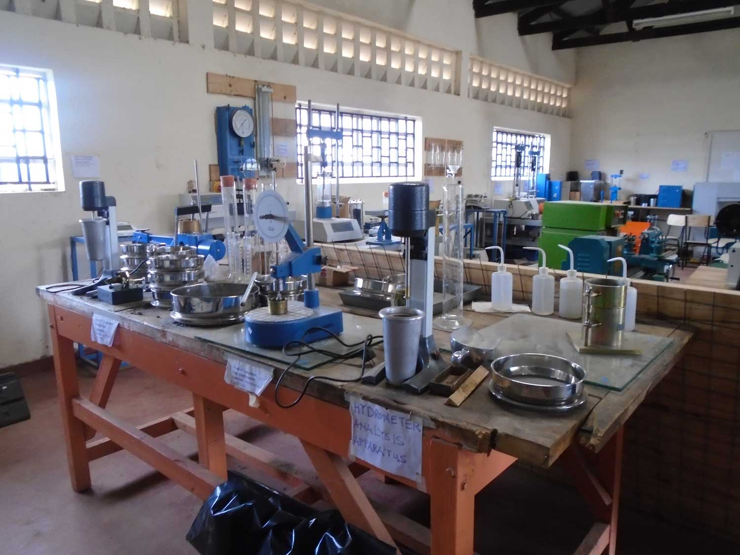 Nyandarua Institute of Science and Technology Building and Civil Engineering Workshop