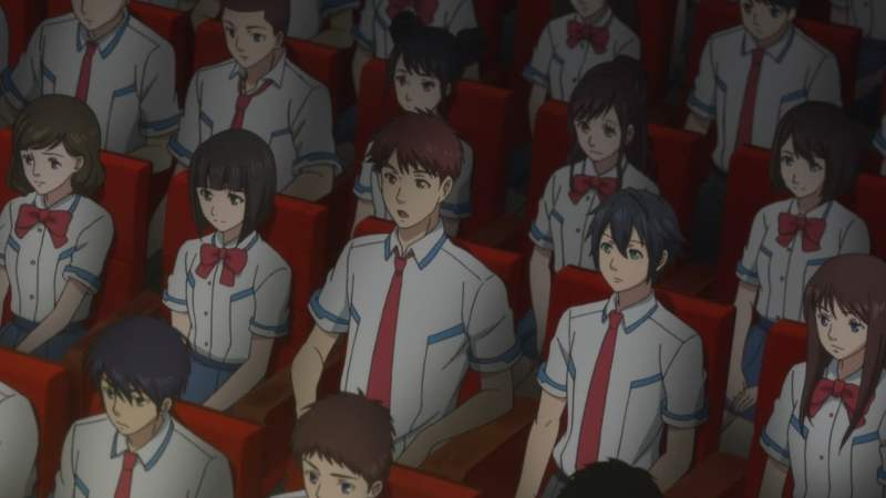 【PSO2アニメ】イツキとコウタの後ろにいる例の3人