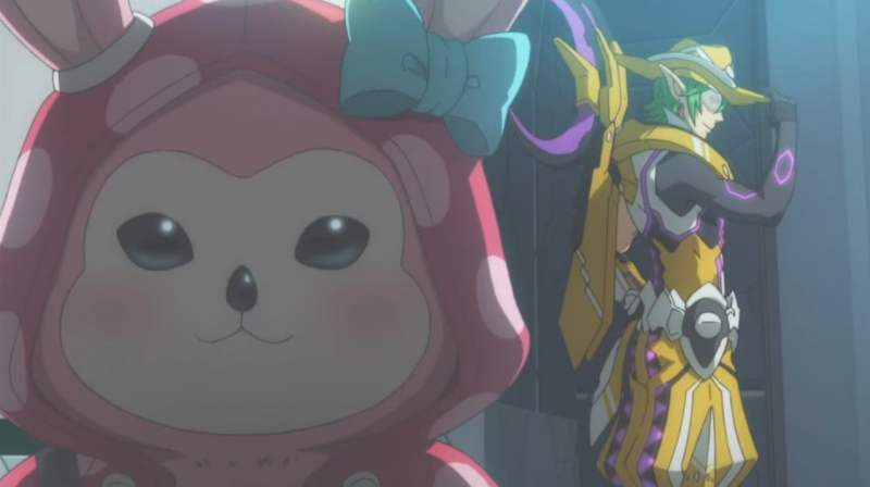 【PSO2】アニメOPより。ガーリーなリリーパのインパクト