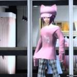 【PSO2】ぶかぶかTシャツピンク