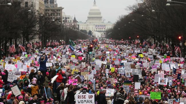 Not taken by Alice. Women's March on Washington.